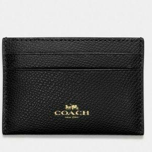💙COACH FLAT CARD CASE 💙